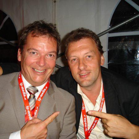 Gustl mit Arnulf Prasch