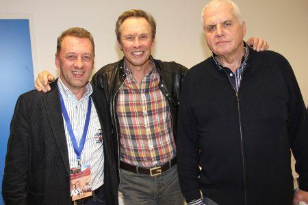 mit Peter Kraus und Karl Haas