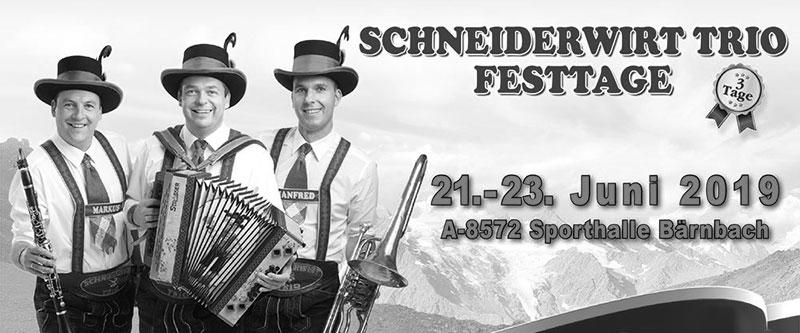 Schneiderwirt Trio Festtage